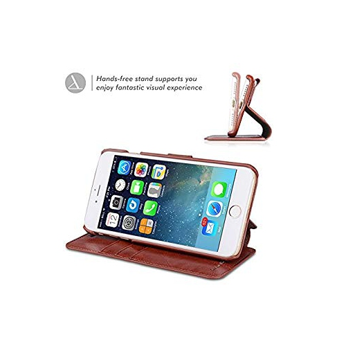 newest collection ff7f0 e8c2f iPhone 7 Case TANNC Flip Leather Wallet Phone Case [Screen Protector  Included][Card Slot][Flip][Wallet] - For iPhone 7- Blown