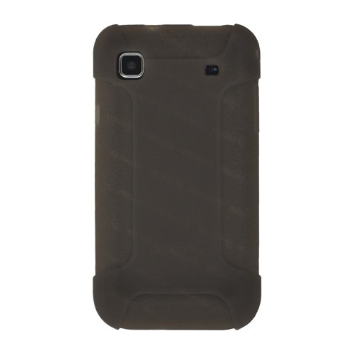 Amzer AMZ88766 Silicone Skin Jelly Case for Samsung Vibrant T959/Samsung Galaxy S 4G SGH-T959V (Gray)