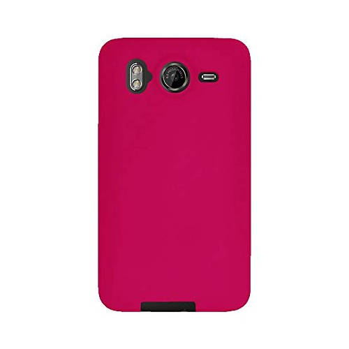 Amzer AMZ89471 Silicone Skin Jelly Case for HTC Desire HD (Pink)