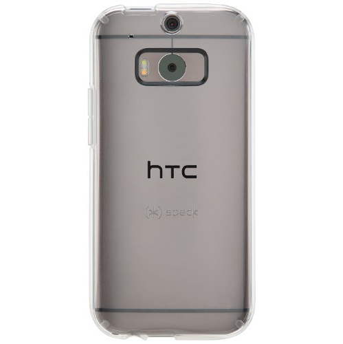 Speck Products GemShell Clear Case for HTC One M8 Smartphone - Clear