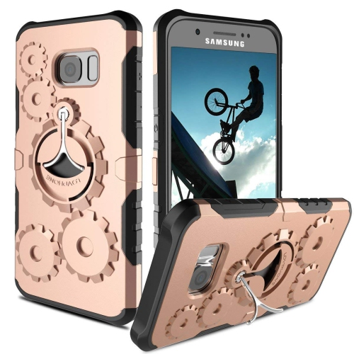 Galaxy S7 Case, DODOTECH Samsung Galaxy S7 Kickstand Case Dual Layer Shockproof Heavy Duty Full Protective Cover for Galaxy S7