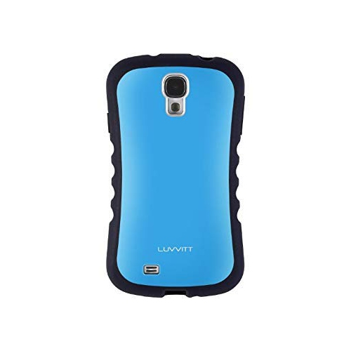 Luvvitt Fitted Hard Shell Case for Samsung Galaxy S4 - Blue