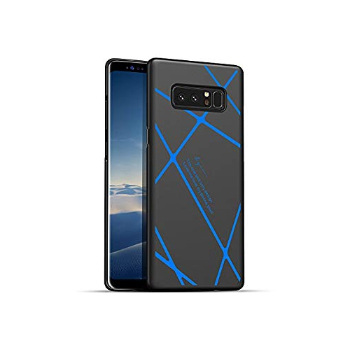 Samsung Galaxy Note 8 Case, AILRINNI [Perfect Fit] Ultra Thin & Light Hard Cover for Galaxy Note 8 (2017) (6.3 inch), Black Bl