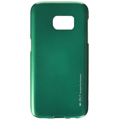 Galaxy S7 Case, [Ultra Slim Fit] Goospery i-Jelly Case [Metallic Finish] Premium TPU Case Cover [Anti-Yellowing / Discoloring