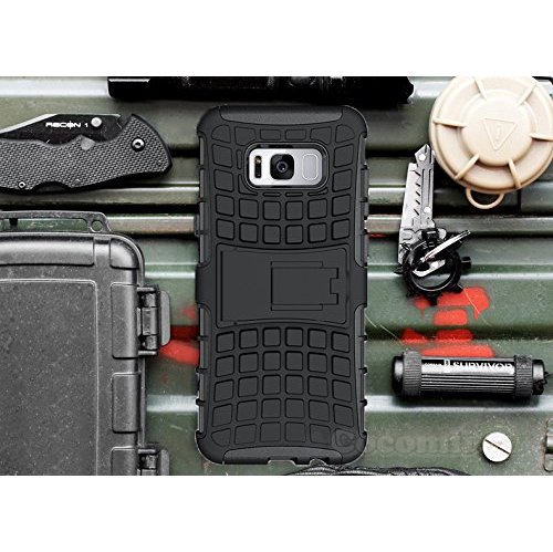Galaxy S8 Case, Cocomii Grenade Armor NEW [Heavy Duty] Premium Tactical Grip Kickstand Shockproof Hard Bumper Shell [Military