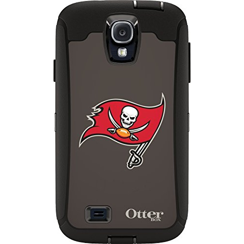 Otterbox Cell Phone Case for Galaxy S4 - Retail Packaging - Buccaneers
