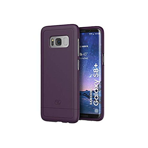 Encased Fitted Hard Shell Case for Samsung Galaxy S8 Plus; Galaxy S8 Plus - Purple; Merlot
