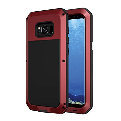 Galaxy S8 Plus Case, Seacosmo Full Body Military Rugged Heavy Duty Aluminum Shockproof Dual Layer Bumper Case Cover for Samsun