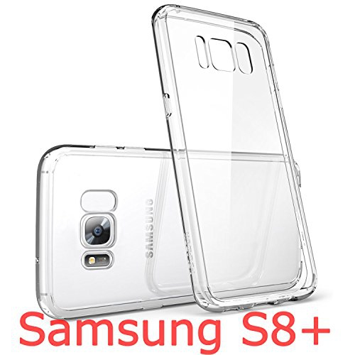 Samsung Galaxy S8 Plus Soft Case,(Ultra Clear Crystal)(0.1mm Slim Fit)(Anti-Shock)Made Of Bayer GERMAN Safety TPU Meterial - I