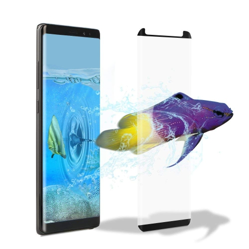 Galaxy Note 8 Screen Protector, Fanhoo 3D Curved Half Screen Case Friendly [Bubble Free] [HD Clear] [Scratch Resistant] Temper