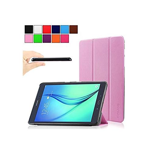 Infiland Samsung Galaxy Tab A 9.7 case, Ultra Slim Tri-Fold Case Smart cover for Samsung Galaxy Tab A 9.7-Inch SM-T550 Tablet