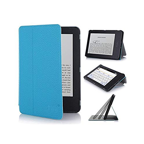 "Kindle, 6"" Glare-Free Touchscreen Display 2014 Case Cove, FYY? Ultra Slim Magnetic Smart Cover Folio Case for Kindle, 6"" Glare"