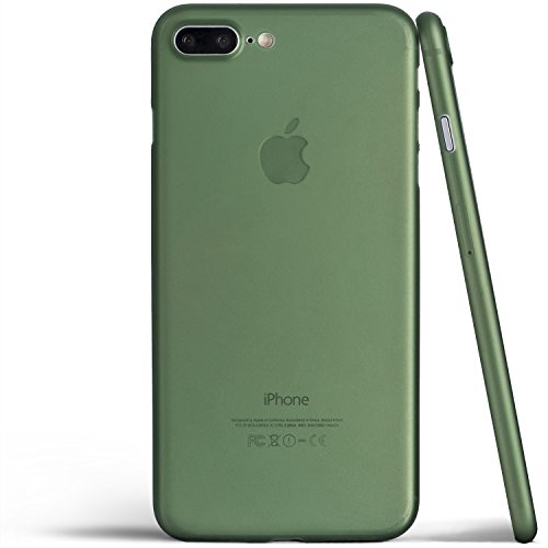 finest selection 20d1b bf43b iPhone 8 Plus Case Thinnest Cover Premium Ultra Thin Light Slim Minimal  Anti-Scratch Protective - For Apple iPhone 8 Plus | t