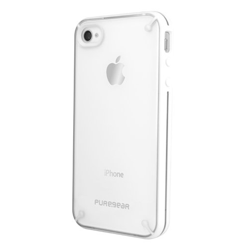 Pure Gear 2-1-1610 Slim Shell for iPhone 4/4S-1 Pack-Carrying Case-Retail Packaging-Coconut Jelly