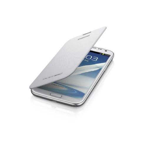 Samsung Galaxy Note 2 Flip Cover Case, Marble White (EFC-1J9FWEGSTA)