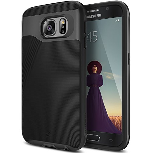 Caseology Fitted Hard Shell Case for Samsung Galaxy S6 - Black