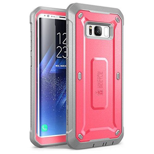 SUPCASE Galaxy S8 Case Full-body Rugged Holster Case Without Screen Protector for Galaxy S8 (2017 Release), Unicorn Beetle Pro