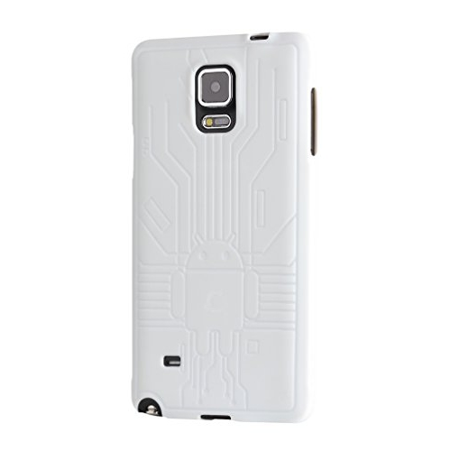 quality design 5f834 a8206 Cruzerlite Fitted Soft Shell Case for Samsung Galaxy Note 4 - White