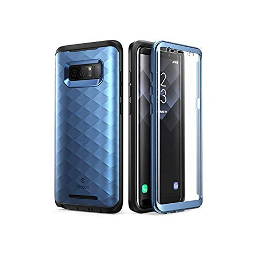 Galaxy Note 8 Case, Clayco [Hera Series] Full-body Rugged Case with Built-in Screen Protector for Samsung Galaxy Note 8 (2017