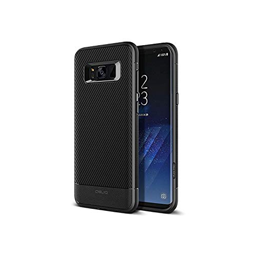 Obliq Fitted Hard Shell Case for Samsung Galaxy S8 Plus - Carbon