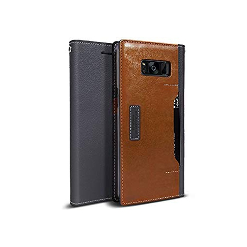 Obliq K3 Wallet Galaxy S8 Plus Case with Three Card Slot and Foldable Leather Flip Cover for Samsung Galaxy S8 Plus (2017) … (