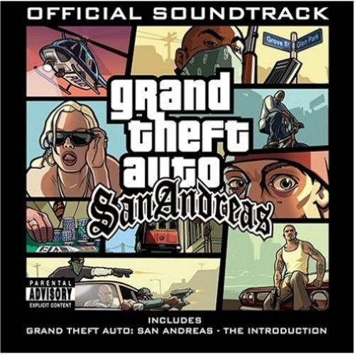 GRAND THEFT AUTO: SAN ANDREAS - OST [2CD/DVD]