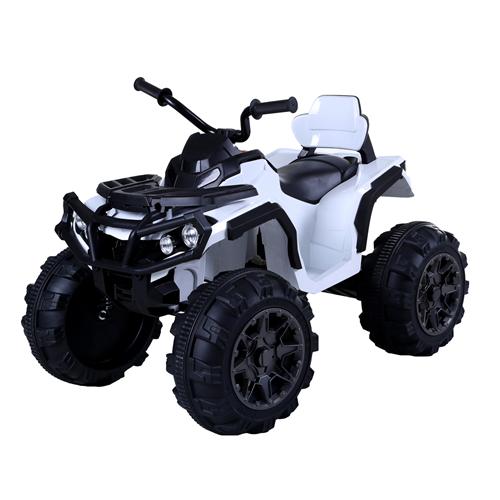 Kidsquad K-4 Super Quad Motorized Ride-on Car for Kids - White
