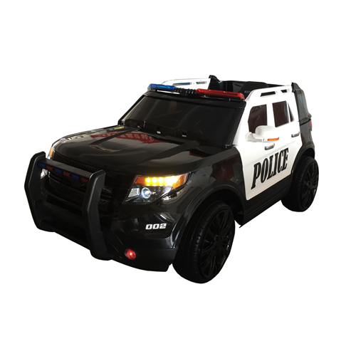 Kidsquad Police Car Motorized Ride-on For Kids