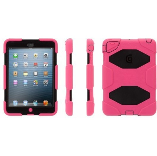 Griffin Survivor All Terrain iPad Mini 1/2/3 Black/Pink (RV35920)