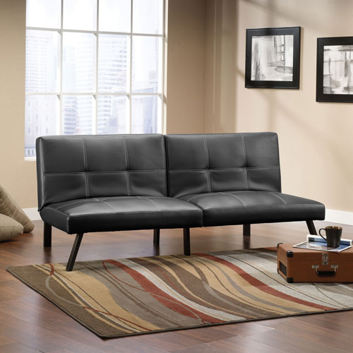 bergen transitional futon   black bergen transitional futon   black   futons  u0026 sofa beds   best buy      rh   bestbuy ca