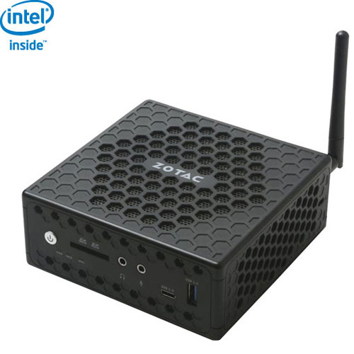 Mini-PC ZBOX de ZOTAC (Celeron x5-N3450 Intel/SSD 32 Go/RAM 4 Go/carte HD 500 Intel/Win 10) - Ang