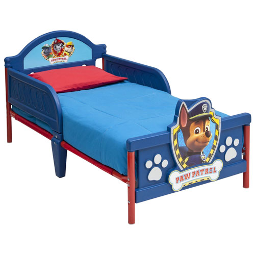 uk availability f4cdc 55144 PAW Patrol Modern Kids Bed - Toddler - Blue