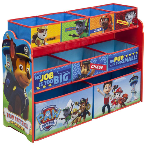 Paw Patrol 9-Drawer Toy Chest