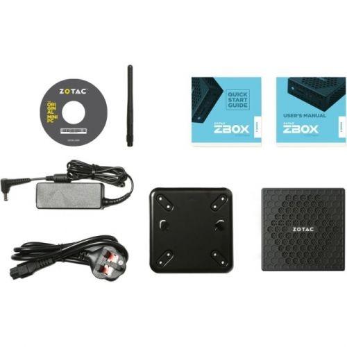 Zotac ZBOX nano C ZBOX-CI327NANO-U Desktop Computer - Intel Celeron N3450 1.10 GHz DDR3L SDRAM - Mini PC