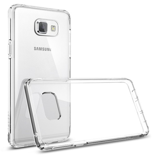 Exian Samsung Galaxy A5 2015 Screen Protectors x 2 and TPU Slim Case Transparent Clear