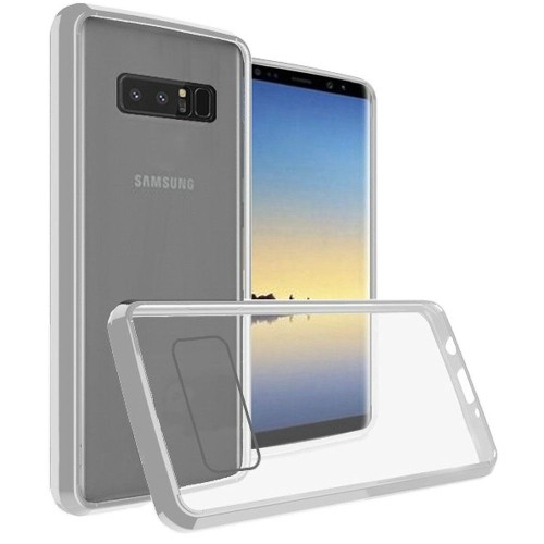 Insten For Samsung Galaxy Note 8 Clear Bumper Hard TPU Plastic Case