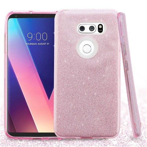 Insten Fitted Soft Shell Case for LG V30 - Pink