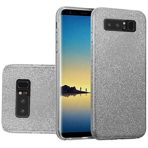 Insten For Samsung Galaxy Note 8 Smoke Hard TPU Glitter Case Cover