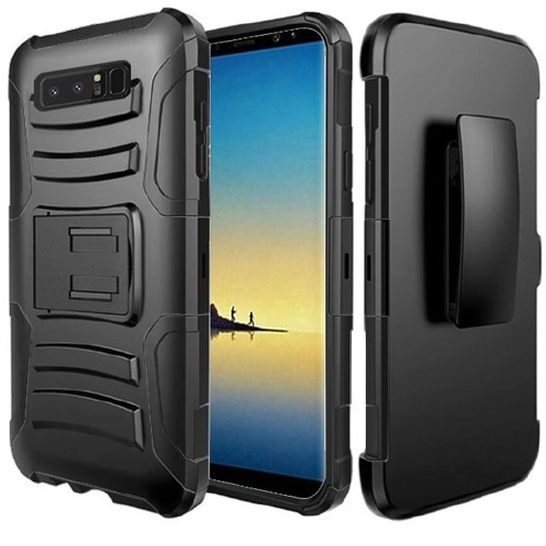 Insten Holster Case for Samsung Galaxy Note 8 - Black