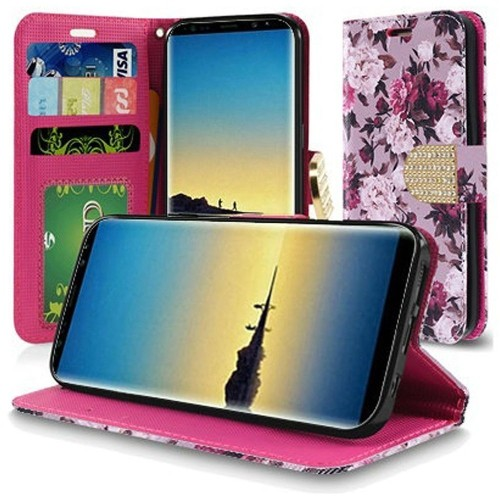 Insten Wallet Case for Samsung Galaxy Note 8 - Multicolor
