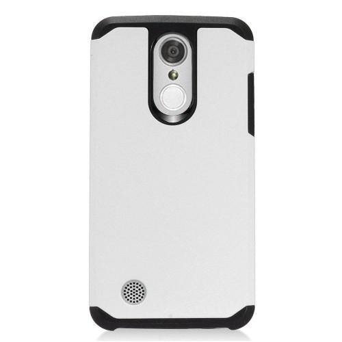Insten For LG Aristo/Fortune/K4 (2017)/K8 (2017)/LV3/Phoenix 3 White Hard Hybrid Case Cover