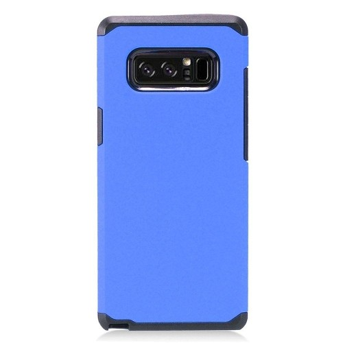 Insten For Samsung Galaxy Note 8 Blue Black Hard Hybrid Plastic Case Cover