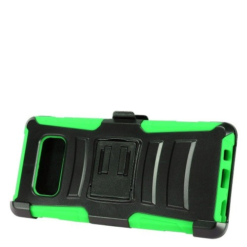 Insten For Samsung Galaxy Note 8 Green Advanced Armor Hard Hybrid Case w/stand Holster