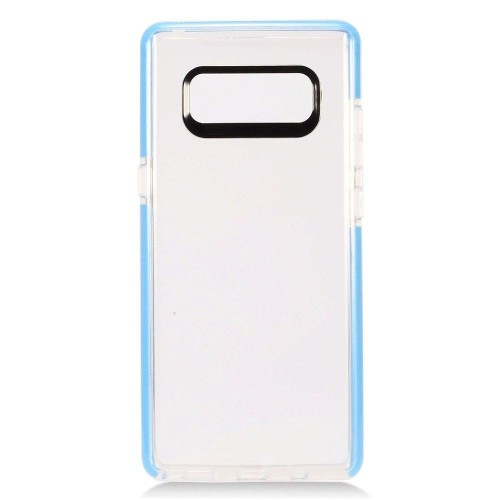 Insten For Samsung Galaxy Note 8 Clear Blue Hard TPU Plastic Case Cover