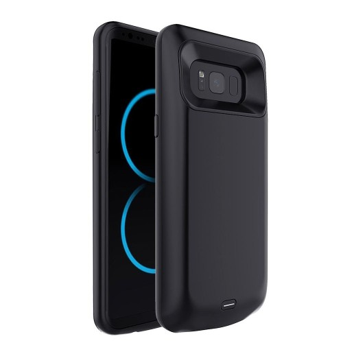 Insten 5000 mAh Battery Charging Case Compatible with Samsung Galaxy S8, Black