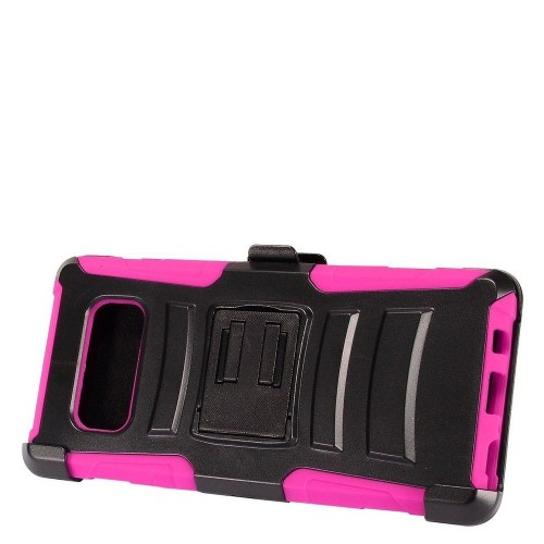 Insten For Samsung Galaxy Note 8 Hot Pink Advanced Armor Hard Hybrid Case Cover w/stand