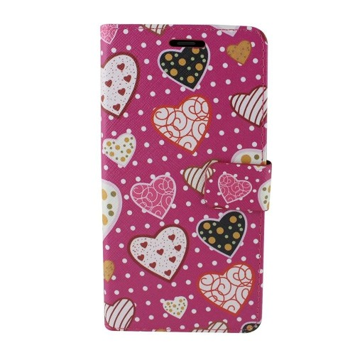 Insten Wallet Case for Samsung Galaxy Note 8 - Hot Pink