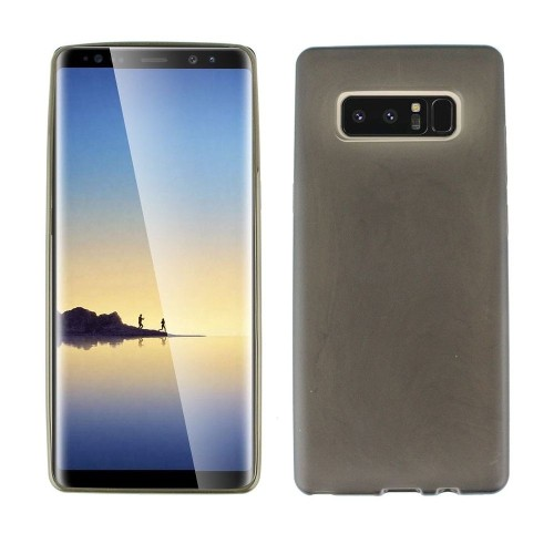 Insten For Samsung Galaxy Note 8 Clear Black Soft Rubber Case Cover