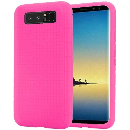 Insten Fitted Soft Shell Case for Samsung Galaxy Note 8 - Hot Pink