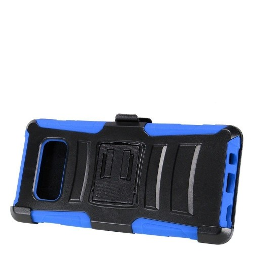 Insten For Samsung Galaxy Note 8 Blue Advanced Armor Hard Hybrid Case w/stand Holster